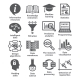 Business Management Icons. Pack 17.