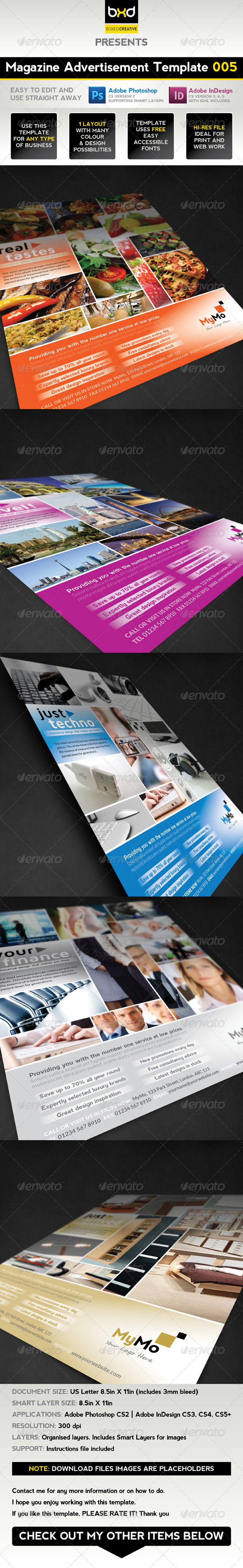 GraphicRiver Magazine Advert Template 005 1608757