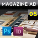 Magazine Advert Template 005 - GraphicRiver Item for Sale