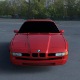BMW 8 Series E31 HDRI
