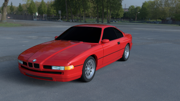 BMW 8 Series E31 HDRI - 3DOcean Item for Sale