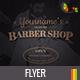 Oldtime Barber Shop Flyer Template