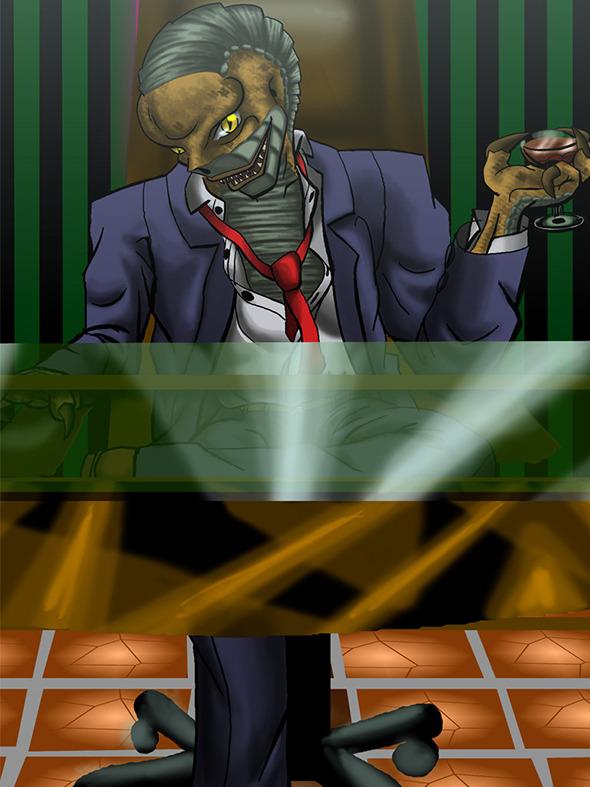 3DOcean Reptilian boss 641786