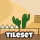 Desert Game Tileset