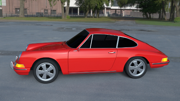 1965 Porsche 911 HDRI - 3DOcean Item for Sale