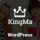 KingMa | Creative Business Onepage & MultiPage Theme