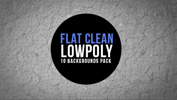 Download Clean and Flat Lowpoly Background Pack nulled download