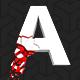 3D Falling Alphabet