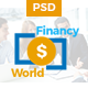 Financy World | Finance PSD Template