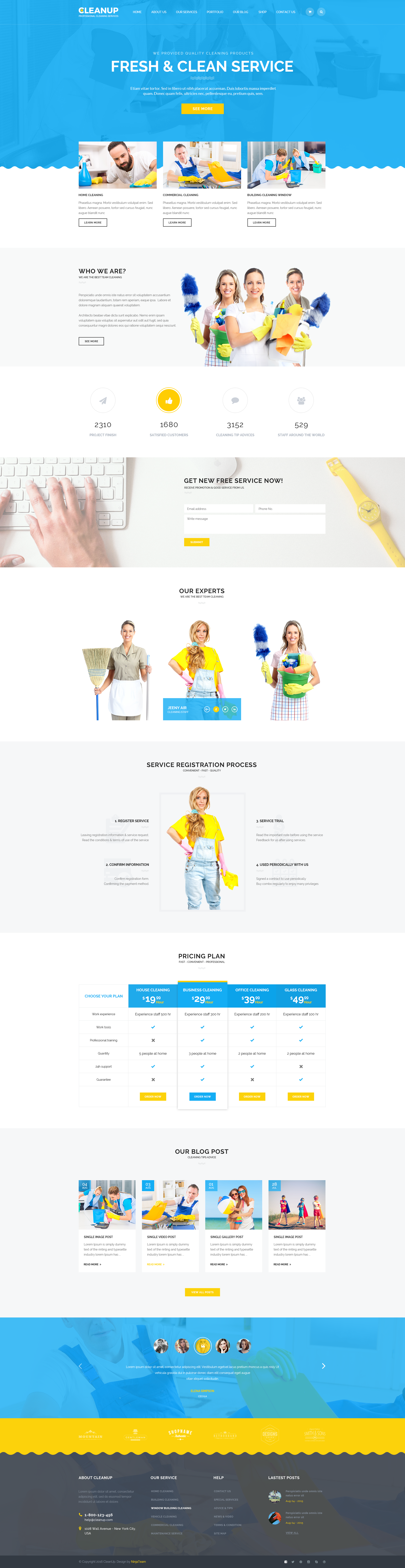 cleanup professional cleaning services html template by ninjateam cleanup professional cleaning services html template