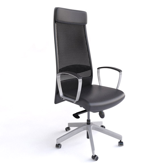 Markus Office Chair - 3DOcean Item for Sale