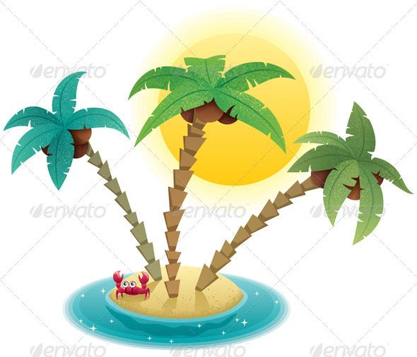 GraphicRiver Small Island 1610940