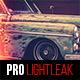 10 PRO Light Leak Lightroom Presets