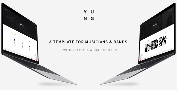 Y.U.N.G STUDIO - Music Producer, Band, DJ & Studio Bootstrap Template