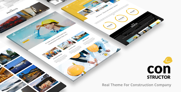 Download Construction Building Company | Constructor Theme nulled download