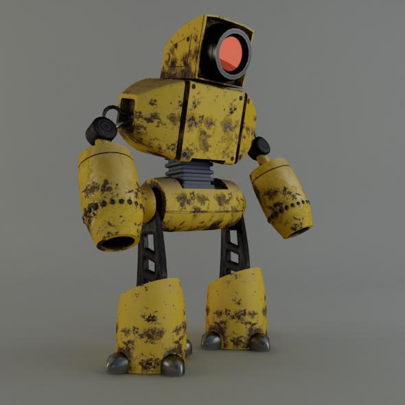 robot3 - 3DOcean Item for Sale