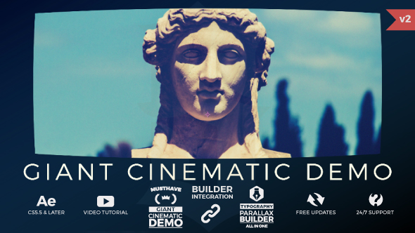 Giant Cinematic Demo-Videohive中文最全的AE After Effects素材分享平台