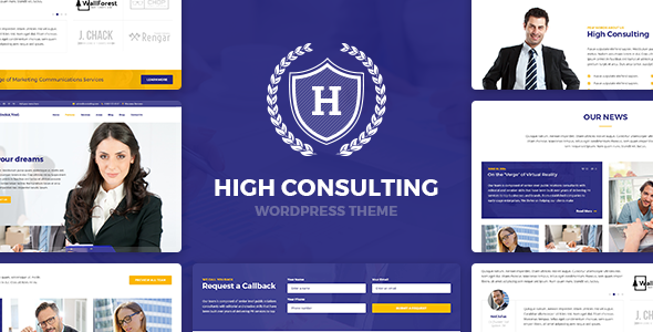 Download High Consulting - Business Consulting and Finance WordPress Theme nulled download