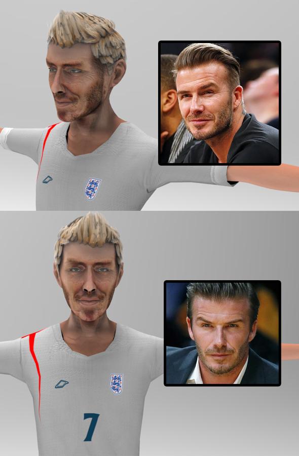 3DOcean Beckham toon figure 16107053