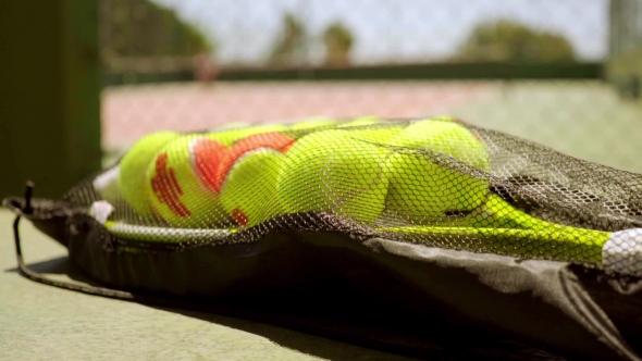 Number Of Tennis palloja maila Training - Urheilu Arkistofilmit