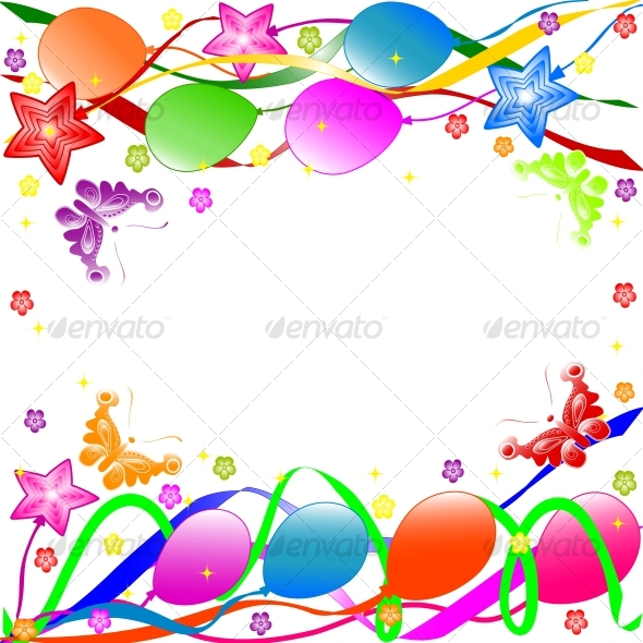 Graphic River Happy Birthday background Vectors -  Conceptual  Seasons/Holidays  Birthdays 63078