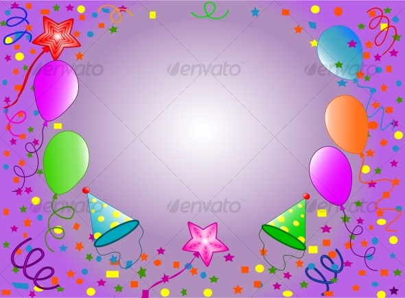 Graphic River Happy Birthday background Vectors -  Conceptual  Seasons/Holidays  Birthdays 63083