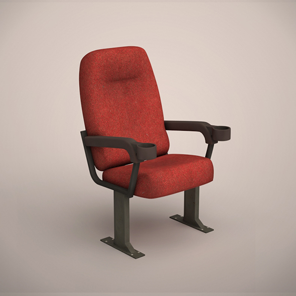 Cinema Chair - 3DOcean Item for Sale