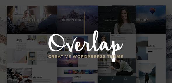 Overlap – High Performance WordPress Theme (Cartera)