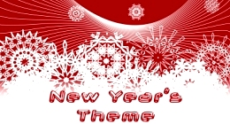 New Year's theme
