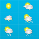 Weather Icon Set - GraphicRiver Item for Sale