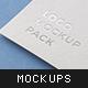 Logo Mockup Pack. Paper Edi-Graphicriver中文最全的素材分享平台