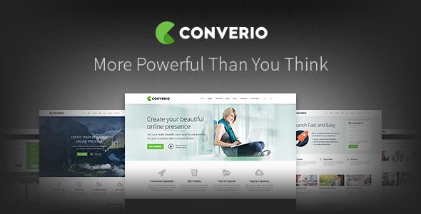Download Converio - Responsive Multi-Purpose WordPress Theme nulled download