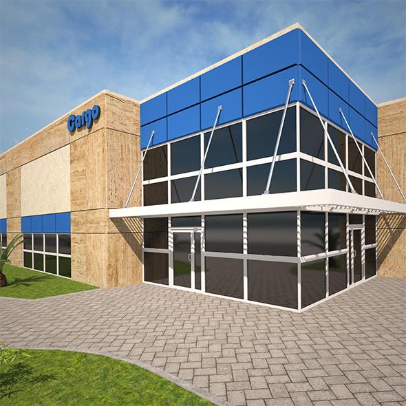 Magazine Building2 - 3DOcean Item for Sale