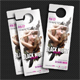 Black Night Party Door Hanger