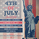 4th Of July Poster Design