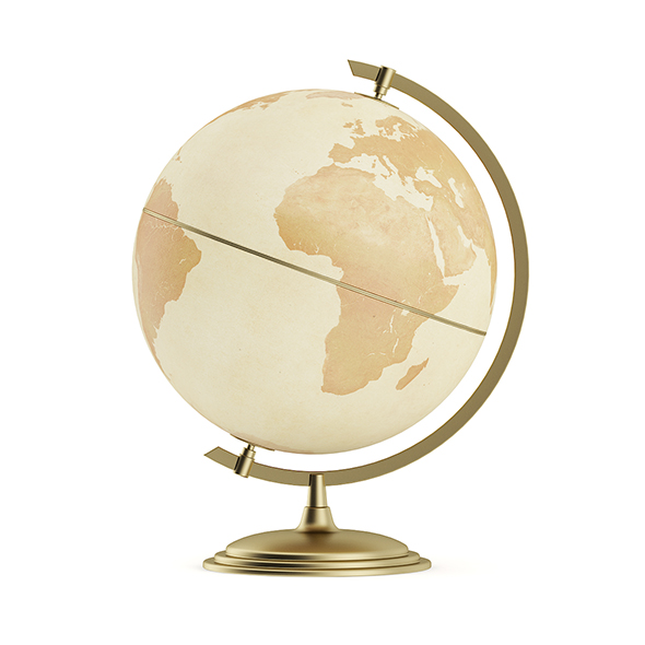 Antique Globe - 3DOcean Item for Sale
