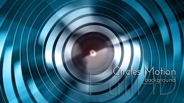 Motion Circles - Abstract Taustat Motion Graphics