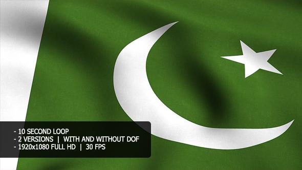 Pakistan Flag Tausta - Muut Taustat Motion Graphics