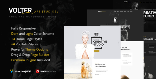 Download Volter - Responsive Creative & Minimal WordPress Theme  nulled download