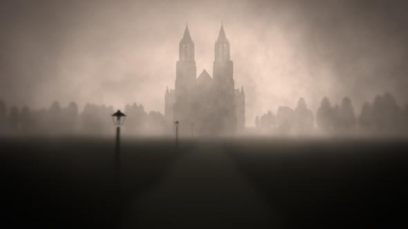 Mystery Sumuinen Horror Scene - Taustat Motion Graphics