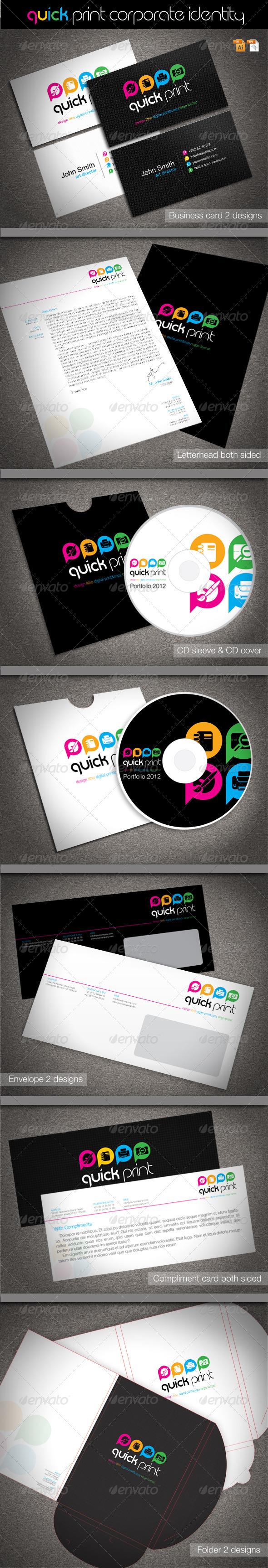 Quick Print Corporate Identity