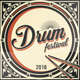 Drum Festival Flyer Template