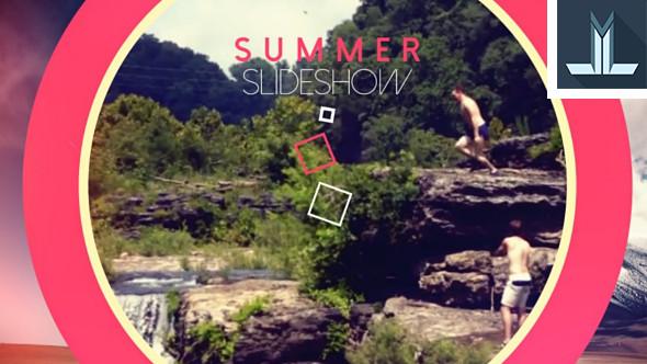 Summer kuvaesitys - Corporate avaajat After Effects Project Files
