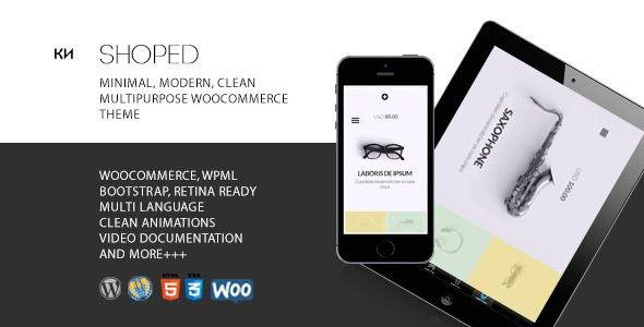 Download Shoped - Multipurpose, Minimal WooCommerce Theme nulled download