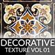 Decorative Texture - Vol 001