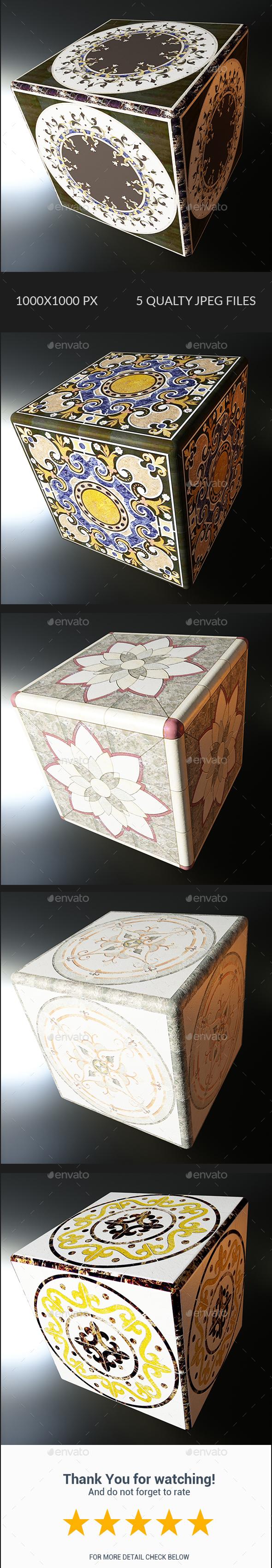 Decorative Texture - Vol 002 - 3DOcean Item for Sale