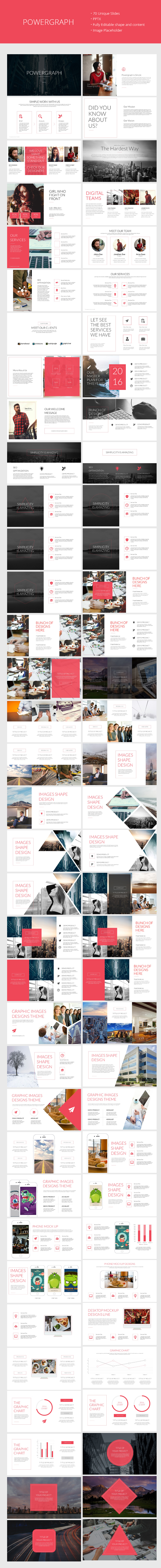 Powergraph Clean Powerpoint Template (PowerPoint Templates)