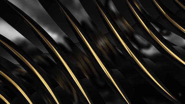 Musta Kulta Sauvat - 3D, Object Taustat Motion Graphics
