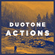 20 Faded Duotone Photoshop Actions