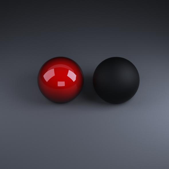 Falloff (car paint)&Black Rubber - 3DOcean Item for Sale